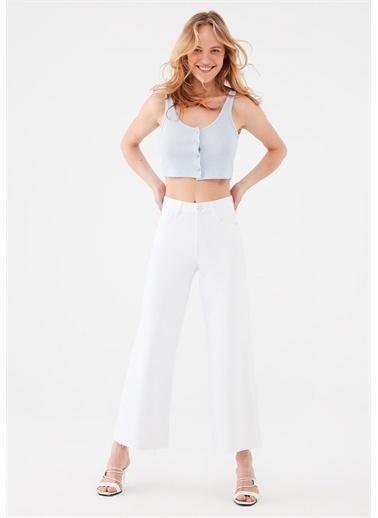 Mavi Bodrum 90 S  Jean Pantolon Beyaz
